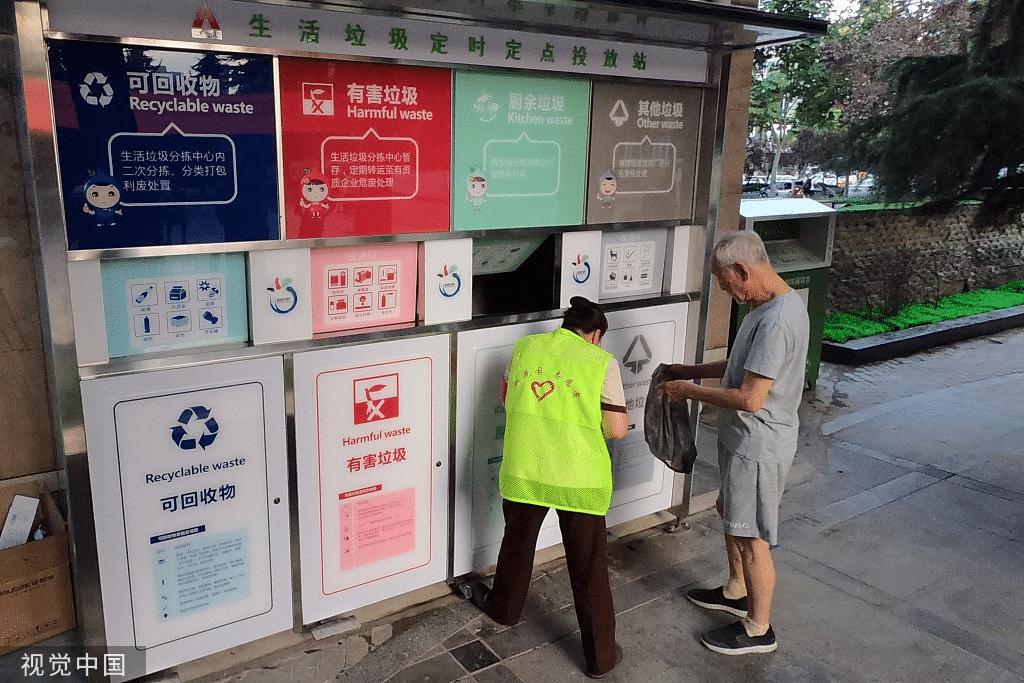 Chine tri des déchets